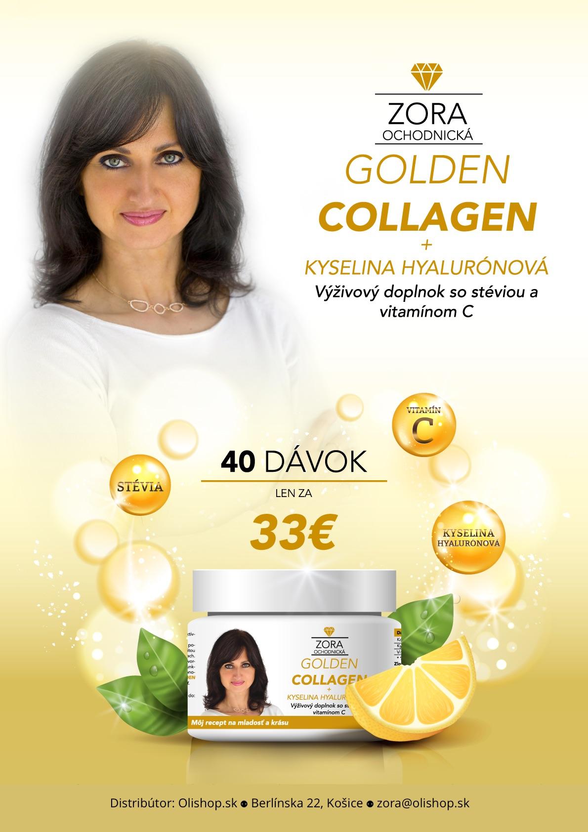 Zora Ochodnicka Golden Collagen - predná strana