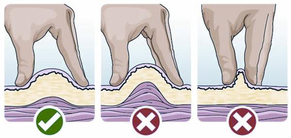 Ako správne zohnúť kožu