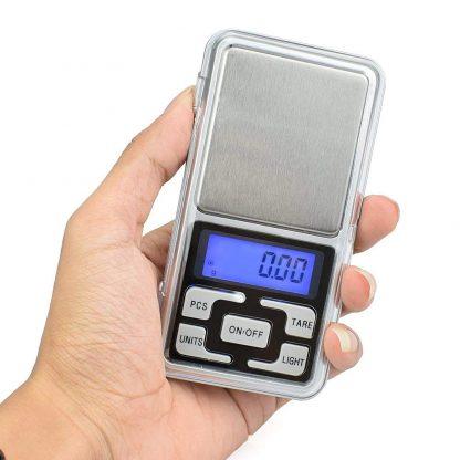 Digitálna vrecková mini váha 200g (presnosť 0,01g) 10