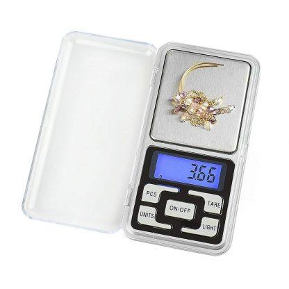 Digitálna vrecková mini váha 200g (presnosť 0,01g) 2