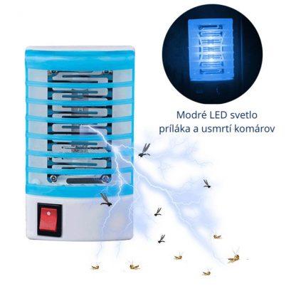 lampa proti komarom